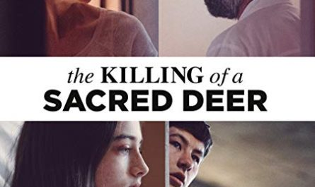 the killing of a sacred deer horror film cover