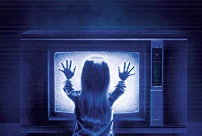 the poltergeist horror film cover