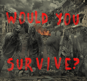 would you survive a zombie apocalypse quiz cover