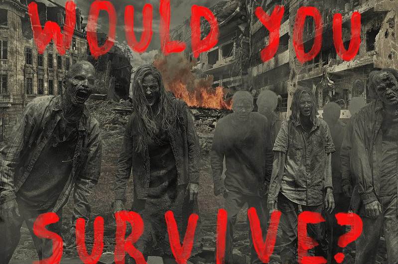 Would You Survive A Zombie Apocalypse? Take The Quiz To Find Out!