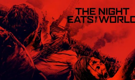 The Night Eats The World horror film review cover