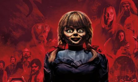 Annabelle comes home horror film review cover